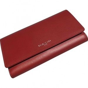 Authentic Balenciaga leather wallet
